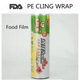 L'extension genre pellicule pour le PE d'emballage de nourriture s'attachent film