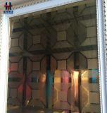 Het Decoratieve Blad van uitstekende kwaliteit van de Kleur van het Roestvrij staal van het Plateren PVD