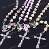 De kleurrijke Plastic Godsdienstige Halsband van de Rozentuin, 59 Rozentuinen van Parels