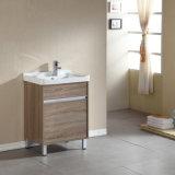 Gabinete de banheiro Multi-Layer da madeira contínua