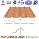 La lamiera di acciaio ondulata per tetto riveste il materiale da costruzione