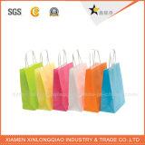 Heißer Großhandelsverkaufs-weiße Papiertüten für Kleidung