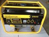 De hete Generator van de Benzine van het Begin van de Verkoop 2.5kVA 2kw Elektrische met Batterij