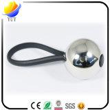 Correa promocional de Keychain del metal de la bola 3D