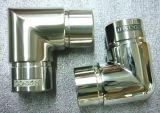 Conetor redondo da câmara de ar do aço inoxidável de 90 graus (CO-3524)