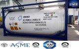 20FT 25000L Высокопрочная сталь 14 бар Давление Контейнер-цистерна для химических веществ