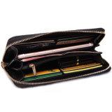 새로운 형식 PU 가죽 지갑 대조 색깔 여자 지갑
