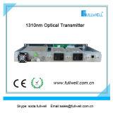 20MW 1310nm dirigent l'émetteur optique de modulation avec CAG, 1 sortie de voie