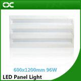 Painel claro do diodo emissor de luz da iluminação do diodo emissor de luz de China Quatily 96W 1200X600mm