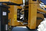 De multifunctionele MiniLader van het Wiel van het VoorEind van de Tractor van de Kipwagen met het Blad van de Sneeuw