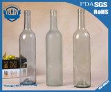 frasco de vinho 750ml vermelho de primeira qualidade sem chumbo transparente de vidro
