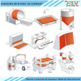 Caucho de silicón impermeable de la pista de calefacción flexible