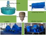 Operação automática, máquina de granulação do fertilizante orgânico