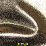 Pearlized knackende synthetische PU-lederne Gewebe für Schuhe