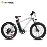 """26 """" bicicletta grassa elettrica della montagna di *4.0 350W250W 750W 1000W, bici elettrica nascosta della montagna grassa della gomma della batteria"""