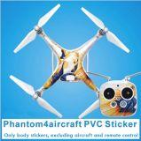 Autoadesivi impermeabili della graffiatura della fusoliera della decalcomania del PVC di Sunflying per Dji Phantom-4