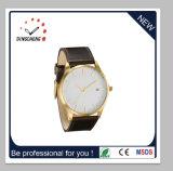 方法腕時計のステンレス鋼の腕時計の水晶女性メンズウォッチ(DC-036)