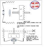 Collecteur de poussière neuf de brevet pour l'acompte de fixation de plafonnier