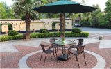 정원 안뜰 호텔 바를 위한 지팡이 등나무 대나무 의자