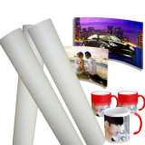 Papel pegajoso do Sublimation do Fs 105g com comprimento 100m da largura 64 ""
