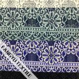 Tela de nylon do laço do algodão especial do projeto da flor