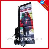 Bandiera portabile dello zaino sulla vendita