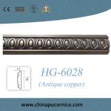 Het Plafond van het Spoor Moulding/PU van de Stoel van Pu en het Afgietsel van de Decoratie van de Muur