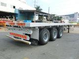 40 Fuß 3axles Flachbettdienstbecken-Wohnmobil-Kipper-Ladung-halb Schlussteil-LKW-
