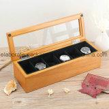 Cadre de bijou en bois de boîte-cadeau de la Chine de fini fabriqué à la main de piano