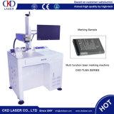Máquina de marcação de laser de fibra livre Maintance para disco flash USB