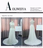 Heißes verkaufendes einfaches Strand-Hochzeits-Kleid