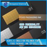 Emulsión del acrílico del estireno de la carpeta de la tinta de impresión