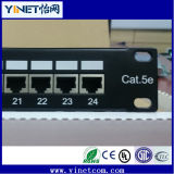 Categoría5e FTP Pactch Panel Cat5e Marco de distribución de red