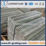 Reja de acero galvanizada del suelo para la plataforma y el foso