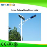 Fabricants professionnels 40W LED Solar Street Light Batterie au lithium