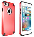 iPhone7/7plus를 위한 이중 색깔 PC TPU 방어적인 전화 상자