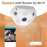 960p камера IP 360 градусов, камера слежения сети Fisheye панорамная