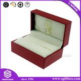 Contenitore di monili Handmade di lusso personalizzato dell'inserto del velluto per la collana o il braccialetto