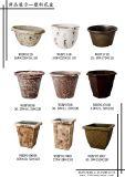 정원 히아신스를 위한 플라스틱 화분 벽돌 패턴 남비