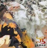 옥외 착용 재킷 의복 직물을%s 228t 나일론에 의하여 인쇄되는 Taslan 직물