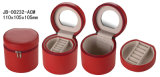 Form Faux-Leder-fördernder Umlauf Jewelry Kasten