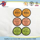 Selos coloridos da folha de alumínio de produto comestível