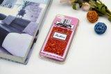 Free Sample líquido brillo Bling perfume caja del teléfono móvil para el iPhone 6/7
