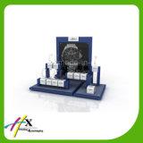 ハイエンドアクリルのCリングの腕時計のホールダーの木の腕時計の陳列台