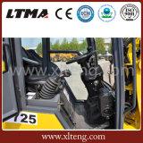 Wundervolle Qualität 0.8 Tonnen-Minitraktor-Rad-Ladevorrichtung im neuen Entwurf