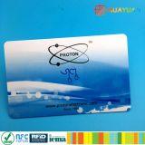 Carte d'accès de l'IDENTIFICATION RF 125kHz Tk4100 de PVC de proximité d'IMPRESSION de CMYK
