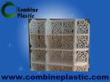Feuille acrylique dure économique de panneau de mousse de PVC de peau au lieu