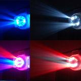 A luz a mais nova do ponto do efeito do diodo emissor de luz 2016 8PCS*3W (gobo) para o estágio do disco com Ce RoHS