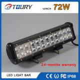 Barre tous terrains d'éclairage LED de rangée de la lumière 72W de travail du CREE DEL Autolamp double