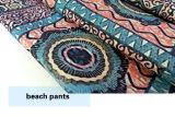 Ткань полиэфира новой напечатанная конструкцией для износа краткостей пляжа вскользь
